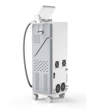 Soprano permanent 808nm alexandrite diode laser hair removal machine