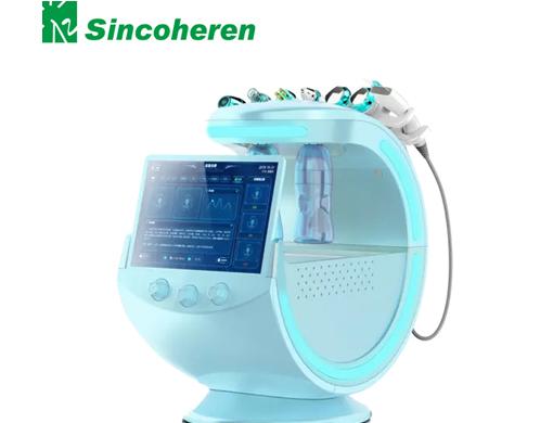 Intelligent Facial Blue Skin Management System